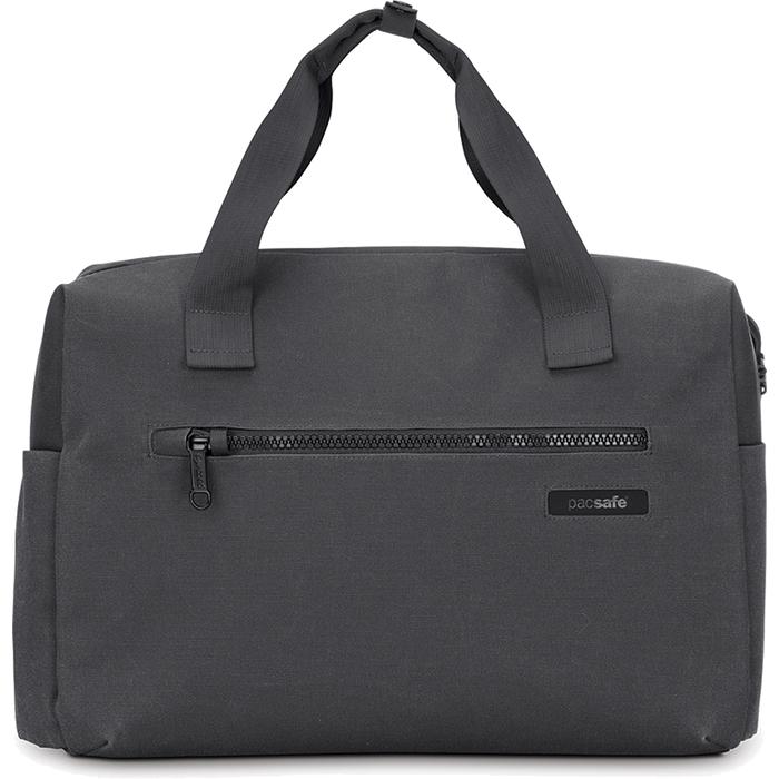 Сумка Pacsafe Intasafe Brief Charcoal сераяСумки для ноутбуков<br>Pacsafe Intasafe Brief — это лёгкая, повседневная сумка, которая станет, в том числе, важным рабочим инструментом.<br><br>Цвет товара: Серый<br>Материал: 420D нейлон, 600D полиэстер с EVA вставками, 1680D полиэстер, полиуретан