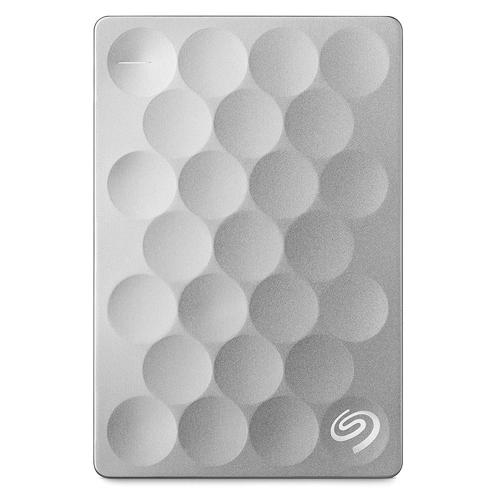 Внешний жесткий диск Seagate Original Backup Plus Ultra Slim 1 Тб платиновыйВнешние накопители<br>Seagate Original Backup Plus Ultra Slim — тонкий и элегантный жёсткий диск.<br><br>Цвет товара: Серебристый<br>Материал: Пластик, металл<br>Модификация: 1 Тб