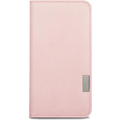 Чехол Moshi Overture Wallet Case для iPhone 7 (Айфон 7) розовыйЧехлы для iPhone 7<br>В Moshi Overture Wallet встроена накладка, которая обеспечивает высокий уровень защиты от ударов и падений.<br><br>Цвет товара: Розовый<br>Материал: Поликарбонат, полиуретановая кожа
