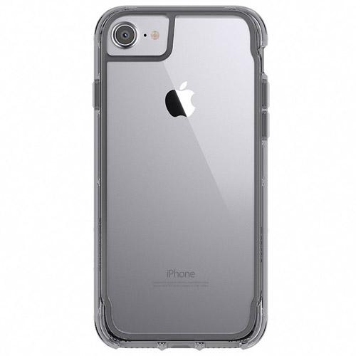 Чехол Griffin Survivor Clear для iPhone 7/6s/6 прозрачный/серыйЧехлы для iPhone 7<br>Чехол Griffin Clear для iPhone 7/6s/6 - прозрачный/серый<br><br>Цвет товара: Серый<br>Материал: Поликарбонат, термопластичный полиуретан