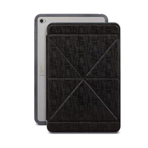 Чехол Moshi VersaCover для iPad mini 4Чехлы для iPad mini 4<br>Чехол Moshi VersaCover для iPad mini 4 чёрный<br><br>Цвет товара: Чёрный<br>Материал: Пластик, полиуретан