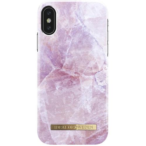 Чехол iDeal of Sweden Fashion Case для iPhone X (Pilion Pink Marble)Чехлы для iPhone X<br>Чехол iDeal of Sweden Fashion Case станет истинным украшением самого лучшего смартфона!<br><br>Цвет: Розовый<br>Материал: Пластик, замша