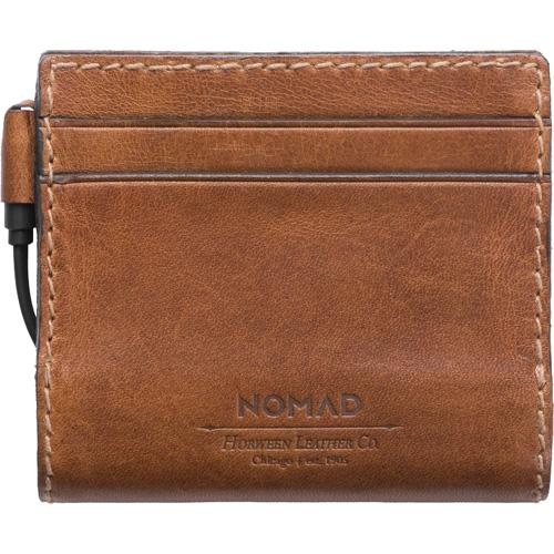 Кошелёк-аккумулятор Nomad Leather Charging Wallet Slim (2400 мАч) коричневыйВнешние аккумуляторы<br>Кошелек с доп аккум 2400mAh Nomad Leather Charging Wallet Slim коричневый<br><br>Цвет товара: Коричневый<br>Материал: Натуральная кожа, алюминий, поликарбонат