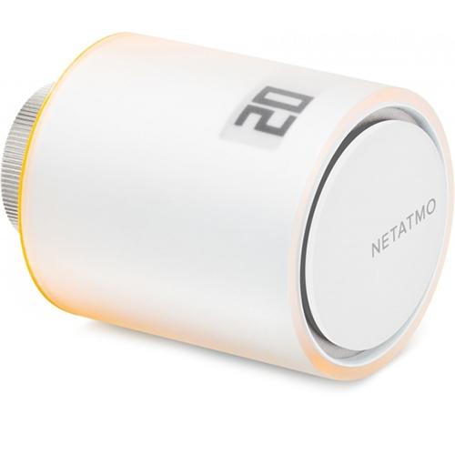 Дополнительный умный радиаторный клапан Netatmo Smart Radiator (NVP-N-EC)Климатическая техника для дома<br>Netatmo Smart Radiator Valves существенно расширяют возможности контроля отопления!<br><br>Цвет товара: Белый<br>Материал: Пластик, металл, оргстекло