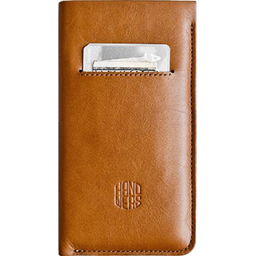 Чехол Handwers Ancon для iPhone 6 Plus/6s Plus/7 Plus коричневыйЧехлы для iPhone 7 Plus<br>Handwers Ancon — это практичный спутник элегантных людей и минималистов.<br><br>Цвет товара: Коричневый<br>Материал: Натуральная кожа, войлок