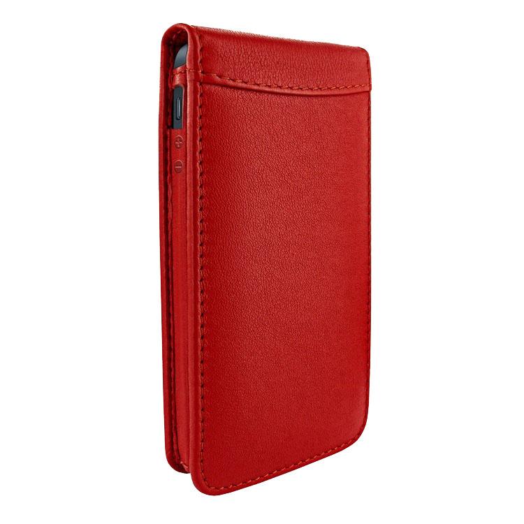 Чехол Piel Frama Magnetic для iPhone 5 красныйЧехлы для iPhone 5s/SE<br>Piel Frama Magnetic — роскошь, достойная короля и его королевы!<br><br>Цвет товара: Красный<br>Материал: Кожа, пластик, текстиль