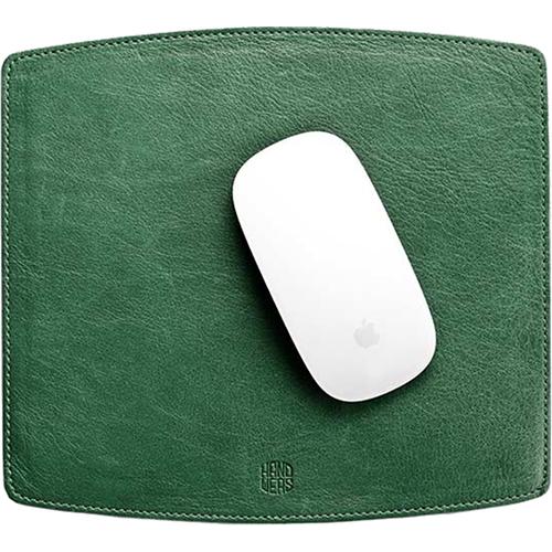 Коврик для мыши Handwers Surface зелёныйКоврики для мышей<br>Handwers Surface — это тонкий коврик для компьютерной мыши.<br><br>Цвет товара: Зелёный<br>Материал: Натуральная кожа