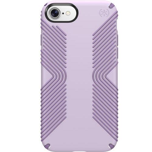 Чехол Speck Presidio Grip для iPhone 7 (Айфон 7) фиолетовыйЧехлы для iPhone 7<br>Чехол Speck Presidio Grip для iPhone 7 (Айфон 7) фиолетовый<br><br>Цвет товара: Фиолетовый<br>Материал: Пластик, силикон