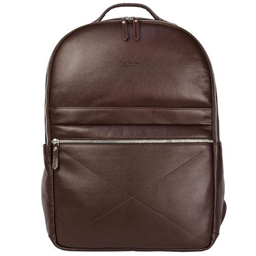 Рюкзак Ray Button Berlin для MacBook 15 коричневыйРюкзаки<br>Рюкзак RAY BUTTON - Berlin Brown [600C3]<br><br>Цвет товара: Коричневый<br>Материал: Натуральная кожа