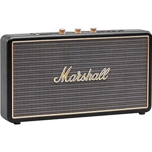 Акустическая система Marshall Stockwell чёрнаяКолонки и акустика<br>Акустическая система Marshall Stockwell черная<br><br>Цвет товара: Чёрный<br>Материал: Пластик, винил, металл