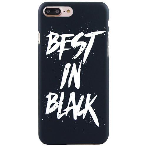Чехол iPapai для iPhone 7 Plus «Mens Choice» (Best in Black)Чехлы для iPhone 7 Plus<br>Креативный силиконовый чехол iPapai с уникальным дизайнерским принтом для iPhone 7 Plus.<br><br>Цвет товара: Чёрный<br>Материал: Пластик