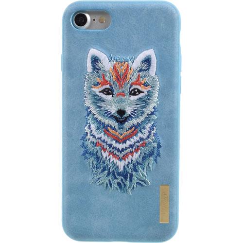 Чехол Nimmy Animal Denim для iPhone 7 / iPhone 8 (Писец) голубойЧехлы для iPhone 7<br>Оригинальный и надёжный чехол Nimmy Animal Denim притягивает взгляд окружающих с первой секунды.<br><br>Цвет: Голубой<br>Материал: Пластик, силикон, текстиль
