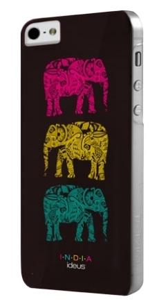 Чехол Fonexion India для iPhone 5/5S/SE черного цветаЧехлы для iPhone 5s/SE<br>Чехол India для iPhone 5/5s Black<br><br>Цвет товара: Чёрный<br>Материал: Поликарбонат