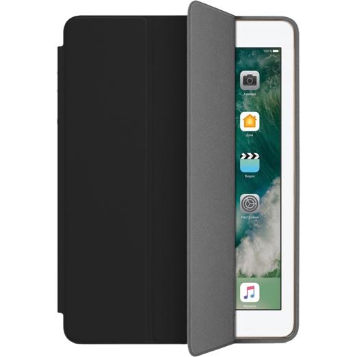 Чехол Muse Smart Case для iPad 9.7 (2017) чёрныйЧехлы для iPad 9.7 (2017)<br>Чехлы Muse — это индивидуальность, насыщенность красок, ультрасовременные принты и надёжность.<br><br>Цвет товара: Чёрный<br>Материал: Поликарбонат, полиуретановая кожа