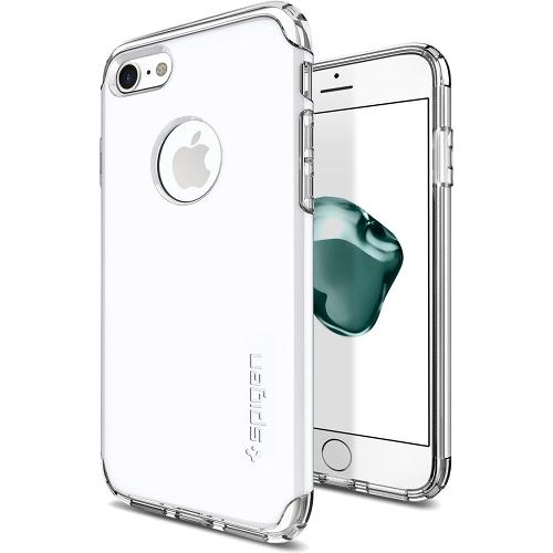Чехол Spigen Hybrid Armor для iPhone 7 (Айфон 7) ультрабелый (SGP-042CS21041)Чехлы для iPhone 7/7 Plus<br>Чехол Spigen Hybrid Armor для iPhone 7 (Айфон 7) ультрабелый (SGP-042CS21041)<br><br>Цвет товара: Белый<br>Материал: Поликарбонат, полиуретан