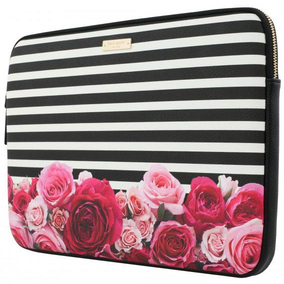 Чехол Kate Spade New York Printed Sleeve для MacBook 13MacBook<br>Kate Spade New York Printed Sleeve — модный, тонкий и стильный чехол!<br><br>Цвет: Разноцветный<br>Материал: Эко-кожа, текстиль