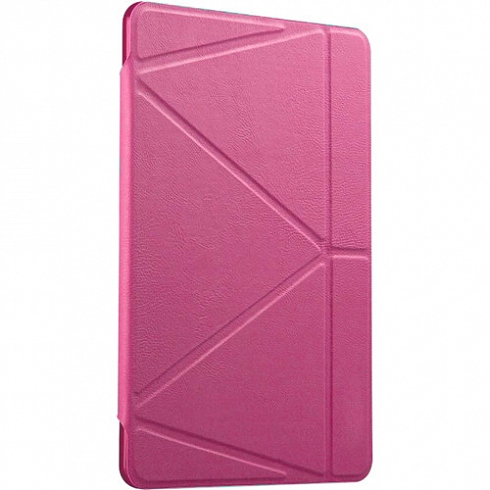 Чехол Gurdini Flip Cover для iPad 9.7 (2017/2018) розовыйЧехлы для iPad 9.7<br>Чехол Gurdini Flip Cover для iPad 9.7 изготовлен из высококачественных материалов. Он - отличная пара для вашего планшета от Apple.<br><br>Цвет: Розовый<br>Материал: Полиуретановая кожа, пластик