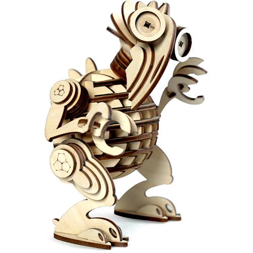 Конструктор 3D Lemmo деревянный Леммитс КЕША3D пазлы, конструкторы, головоломки<br>Конструктор Lemmo 3D деревянный, подвижный - ЛЕММИТС КЕША<br><br>Цвет товара: Бежевый<br>Материал: Натуральное дерево