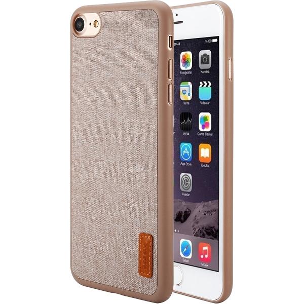 Чехол Baseus Grain Case Sunie Series Ultra Slim для iPhone 7 бежевыйЧехлы для iPhone 7<br>Тонкий чехол Baseus Grain Case Sunie Series Ultra Slim выглядит элегантно и в тоже время молодёжно, что не может не привлечь внимания.<br><br>Цвет товара: Бежевый<br>Материал: Термопластичный полиуретан, текстиль