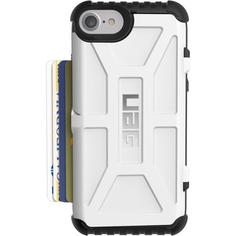 Чехол UAG Trooper Series Case для iPhone 6/6s/7/8 белыйЧехлы для iPhone 6/6s<br>Чехлы от компании Urban Armor Gear разработаны и спроектированы таким образом, чтобы обеспечить максимальную защиту вашему смартфону, при этом со...<br><br>Цвет: Белый<br>Материал: Пластик