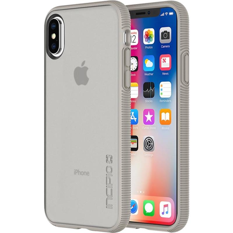 Чехол Incipio Octane для iPhone X песочныйЧехлы для iPhone X<br><br><br>Цвет товара: Бежевый<br>Материал: Поликарбонат, термопластичный полиуретан