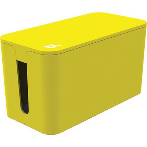 Бокс для проводов Bluelounge CableBox Mini жёлтыйОрганайзеры проводов и гаджетов<br>С Bluelounge CableBox Mini кабели теперь всегда будут храниться опрятно и без пыли.<br><br>Цвет товара: Жёлтый<br>Материал: Огнестойкий пластик, резина