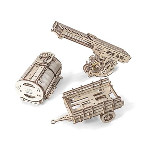 3D-пазл UGears Дополнение к грузовику UGM-113D пазлы и конструкторы<br>3D-пазл UGears Дополнение к грузовику<br><br>Цвет товара: Бежевый<br>Материал: фанера (ФК)