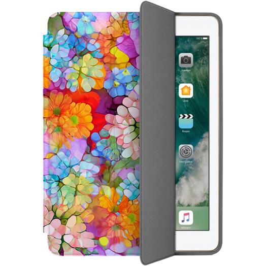 Чехол Muse Smart Case для iPad 9.7 (2017/2018) Цветы 2Чехлы для iPad 9.7<br>Чехлы Muse — это индивидуальность, насыщенность красок, ультрасовременные принты и надёжность.<br><br>Цвет: Разноцветный<br>Материал: Поликарбонат, полиуретановая кожа