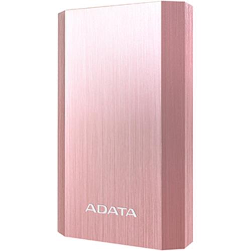Внешний аккумулятор ADATA A10050 PowerBank 10050 mAh розовое золотоДополнительные и внешние аккумуляторы<br>ADATA A10050 PowerBank — это мощный портативный аккумулятор с двумя USB-портами для безопасной и быстрой подзарядки ваших гаджетов!<br><br>Цвет товара: Розовое золото<br>Материал: Алюминий