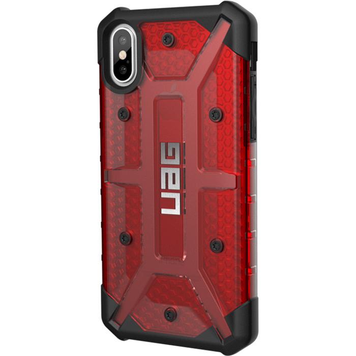 Чехол UAG Plasma Series Case для iPhone X красный MagmaЧехлы для iPhone X<br>UAG Plasma Series Case обеспечивает максимальную защиту от ударов и падений!<br><br>Цвет товара: Красный<br>Материал: Поликарбонат, термопластичный полиуретан