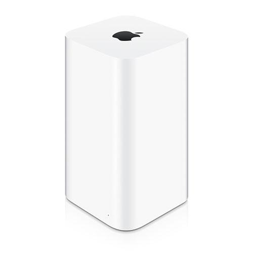 Apple AirPort Extreme Base StationБеспроводное оборудование<br>AirPort Extreme New ME918<br><br>Цвет: Белый<br>Материал: Пластик