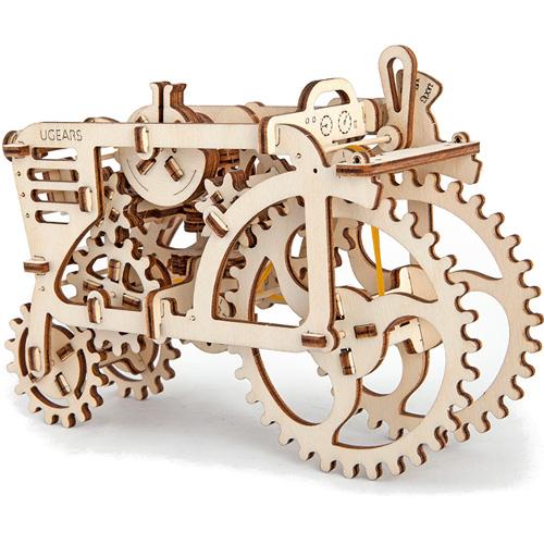 3D-пазл UGears Трактор (Tractor)3D пазлы и конструкторы<br>3D-пазл UGears Трактор (Tractor)<br><br>Цвет товара: Бежевый<br>Материал: фанера (ФК)