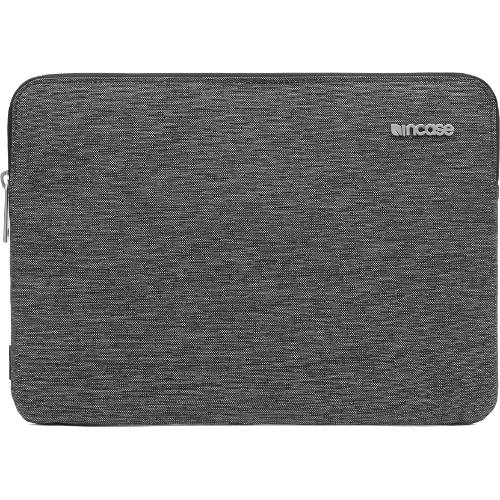Чехол Incase Slim Sleeve для MacBook Air 11 черныйЧехлы для MacBook Air 11<br>Чехол на молнии Incase Slim Sleeve для MacBook Air 11 черно-серая ткань<br><br>Цвет товара: Чёрный<br>Материал: Текстиль