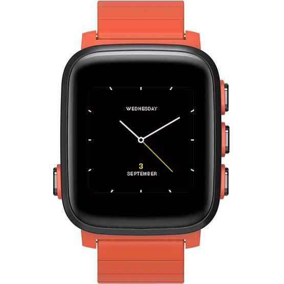 Умные часы SMA Q2 Lite оранжевыеУмные часы<br>Умные часы, в которых идеально сочетаются смарт-функции и функции фитнес-трекера.<br><br>Цвет товара: Оранжевый<br>Материал: Пластик
