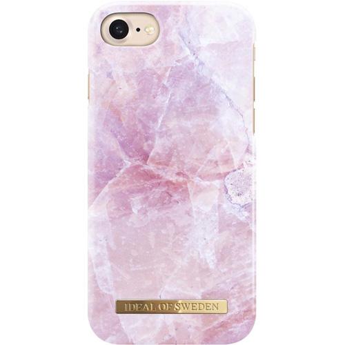Чехол iDeal of Sweden Fashion Case для iPhone 8/7/6 (Pilion Pink Marble)Чехлы для iPhone 6/6s<br>Надежный и яркий чехол iDeal of Sweden Fashion Case станет истинным украшением самого лучшего смартфона!<br><br>Цвет товара: Розовый<br>Материал: Пластик, замша