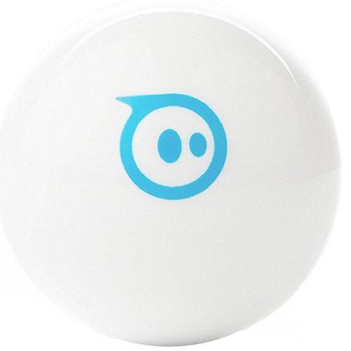 Роботизированный шар Sphero Mini белыйРоботы<br>Sphero Mini — роботизированный шар, с которым вы никогда не устанете играть!<br><br>Цвет: Белый<br>Материал: Поликарбонат