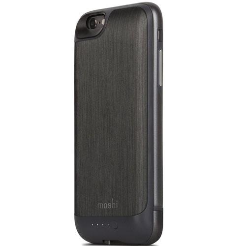 Чехол Moshi iGlaze Ion для iPhone 6/6s чёрная стальЧехлы для iPhone 6/6s<br>Чехол Moshi iGlaze Ion для iPhone 6/6s чёрная сталь<br><br>Цвет товара: Чёрный<br>Материал: Пластик, металл