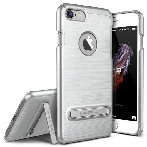 Чехол Verus Simpli Lite для iPhone 7 (Айфон 7) серебристый (VRIP7-SPLSS)Чехлы для iPhone 7<br>Чехол Verus для iPhone 7 Simpli Lite, серебристый (904622)<br><br>Цвет товара: Серебристый<br>Материал: Поликарбонат, полиуретан