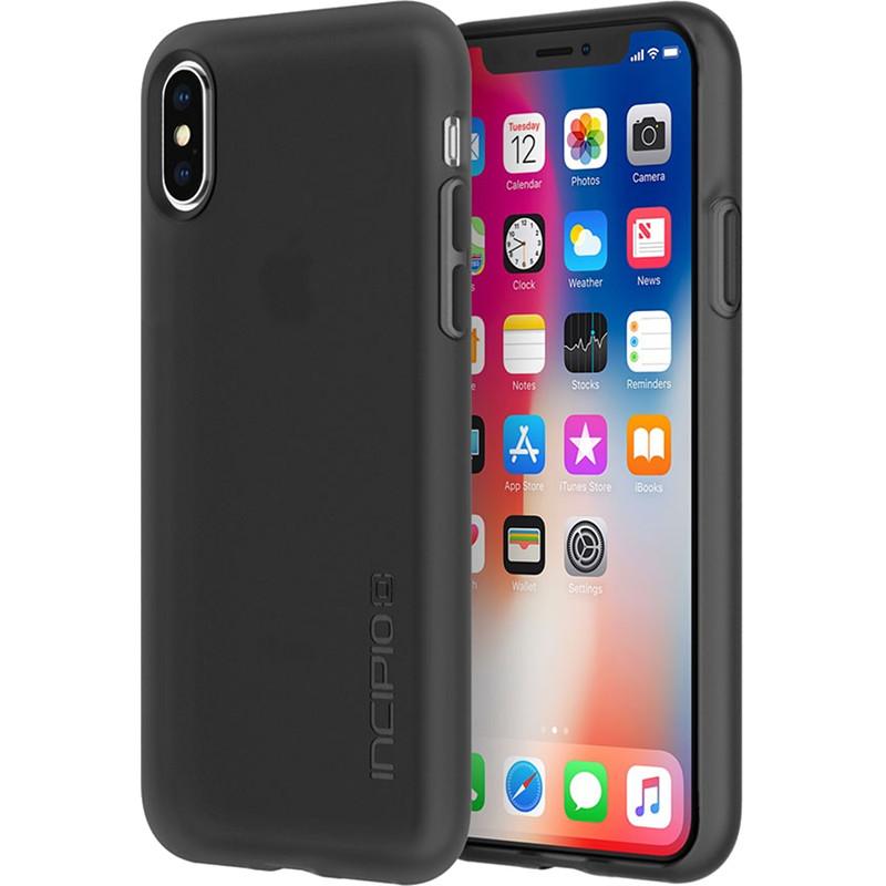 Чехол Incipio NGP для iPhone X дымчатыйЧехлы для iPhone X<br>Чехол изготовлен из гибкого, абсорбирующего материала Flex2O™ с шелковистой поверхностью.<br><br>Цвет: Серый<br>Материал: Термопластичный полиуретан