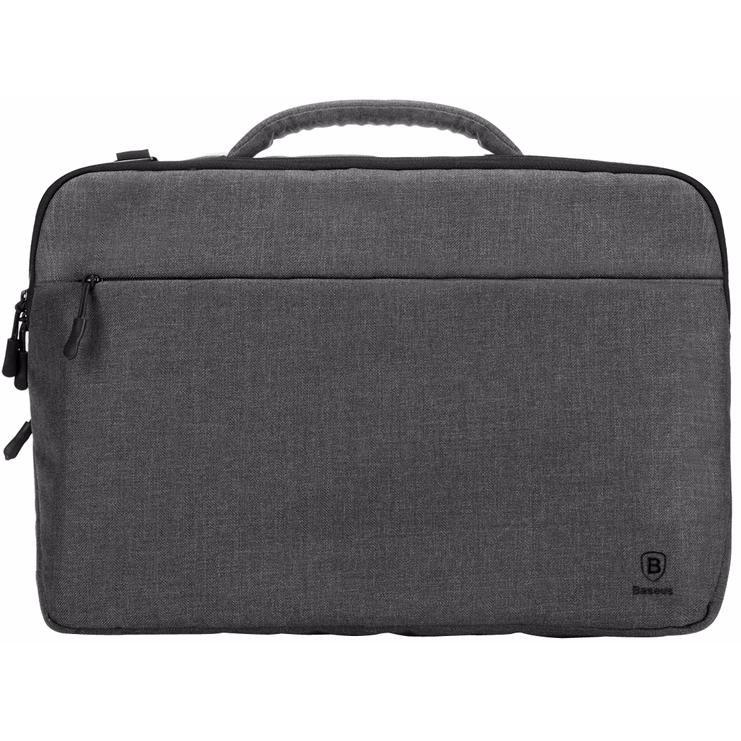 Сумка Baseus Protective Handbag для MacBook 15 сераяСумки для ноутбуков<br>Baseus Protective Handbag легко защитит ваш ноутбук!<br><br>Цвет товара: Серый<br>Материал: Влагостойкий нейлон, ПВХ