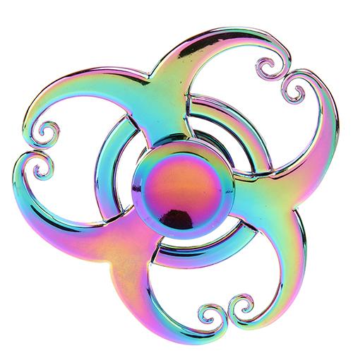 Спиннер Fidget Glory Rainbow Series Радиация SP4576Игрушки-антистресс<br>Благодаря покрытию «хамелеон» спиннер Fidget Glory захватывает внимание с первой секунды!<br><br>Цвет товара: Разноцветный<br>Материал: Металл