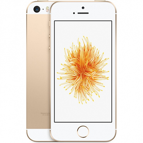 Apple iPhone SE - 32 Гб золотойApple iPhone 5s/SE<br>Новинка весны 2016 года от Apple — iPhone SE — объединил в себе уже знакомые новейшие технологии и самый полюбившийся пользователям дизайн.<br><br>Цвет товара: Золотой<br>Материал: Металл<br>Модификация: 32 Гб