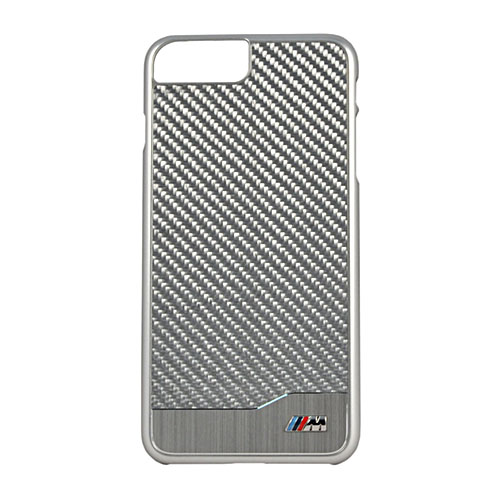 Чехол BMW M-Collection Aluminium &amp; Carbon Hard для iPhone 7 Plus (Айфон 7 Плюс) серебристыйЧехлы для iPhone 7 Plus<br>Чехол BMW для iPhone 7 Plus M-Collection Aluminium&amp;Carbon Hard Silver<br><br>Цвет: Серебристый<br>Материал: Полкикарбонат