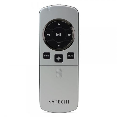 Пульт управления Satechi Bluetooth Smart Pointer для iOS и Android (B00AAL0QLW) серебристыйБеспроводное оборудование<br>Многофункциональный пульт для управления устройствами на iOS и Android, а также Apple TV 3.<br><br>Цвет товара: Серебристый<br>Материал: Пластик