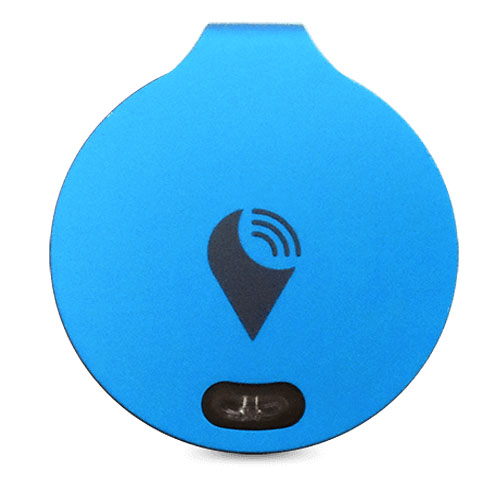 Метка местоположения (трекер) Trackr Bravo голубаяМетки местоположения, GPS-трекеры<br>Главной особенностью Trackr Bravo является его функция двухстороннего мониторинга.<br><br>Цвет товара: Голубой<br>Материал: Металл, пластик