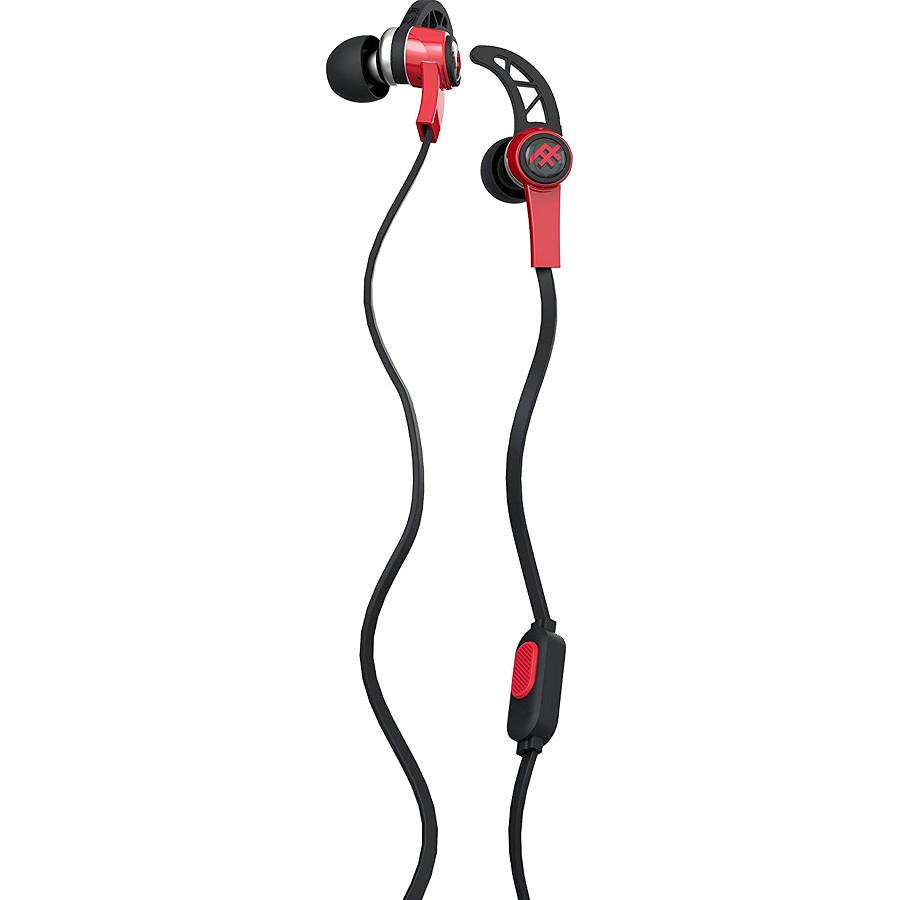 Наушники iFrogz Summit EarBuds красныеВнутриканальные наушники<br>Небольшие динамики наушников выдают отличного качества звук, глубокий и насыщенный от самых ярких высоких до бархатных басовых нот.<br><br>Цвет товара: Красный<br>Материал: Пластик, силикон