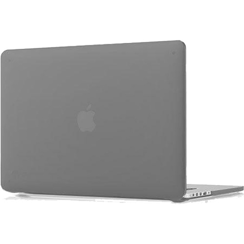 Чехол Crystal Case для MacBook Pro 15 Retina тёмно-серыйЧехлы для MacBook Pro 15 Retina<br>Добавьте изящности и слой надежной защиты с Crystal Case — твердой оболочкой, точно соответствующей формам MacBook Pro 15 с дисплеем Retina.<br><br>Цвет товара: Серый<br>Материал: Поликарбонат
