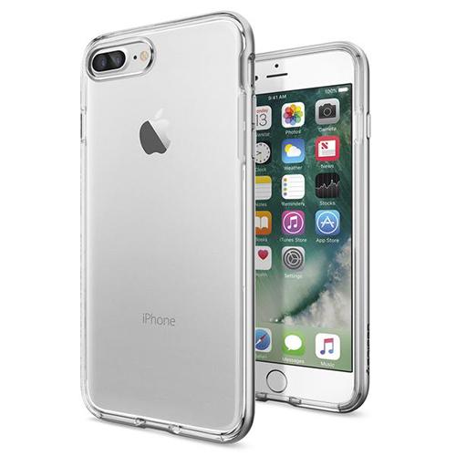 Чехол Spigen Neo Hybrid Crystal для iPhone 7 Plus (Айфон 7 Плюс) серебристый (SGP-043CS20684)Чехлы для iPhone 7 Plus<br>Чехол Spigen для iPhone 7 Plus Neo Hybrid Crystal серебристый (043CS20684)<br><br>Цвет товара: Серебристый<br>Материал: Поликарбонат, полиуретан