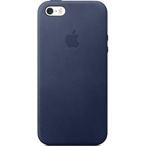 Кожаный чехол Apple Case для iPhone 5/5S/SE тёмно-синийЧехлы для iPhone 5s/SE<br>Кожаный чехол Apple Case для iPhone SE тёмно-синий<br><br>Цвет товара: Синий<br>Материал: Натуральная кожа, пластик