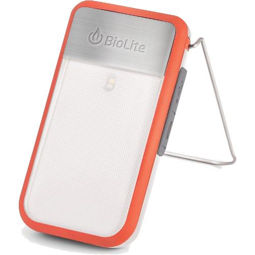 Фонарь BioLite PowerLight Mini с аккумулятором красныйПоходные приборы от BioLite<br>Фонарь BioLite PowerLight Mini с аккумулятором красный<br><br>Цвет товара: Красный<br>Материал: Металл, пластик